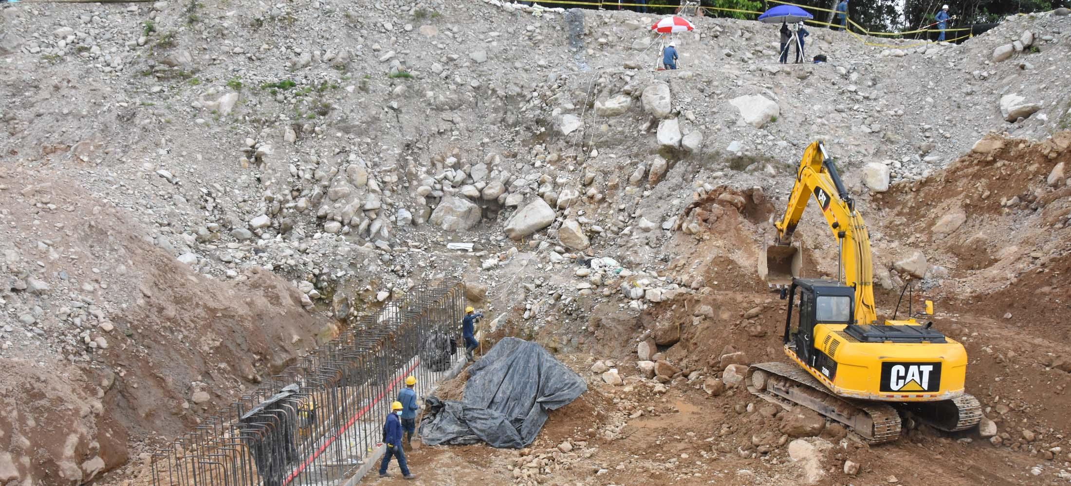 EConstrucción del Megacolegio Ciudad Mocoa.