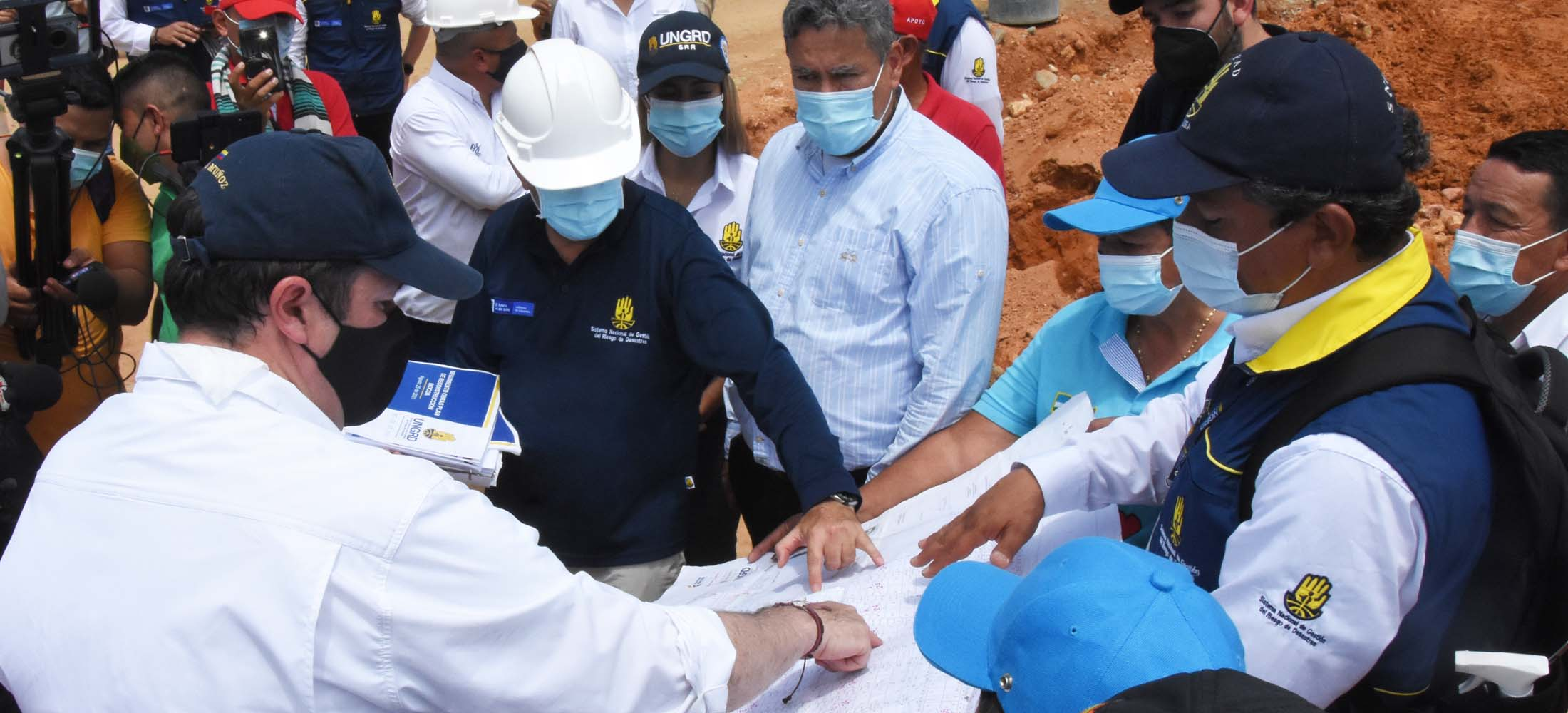 En total serán 57 las obras de mitigación que se realizarán en Mocoa en el marco de la recuperación de la ciudad